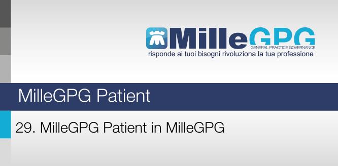 29) MilleGPG Patient in MilleGPG