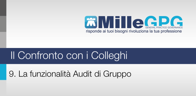 9) La funzionalità Audit di Gruppo