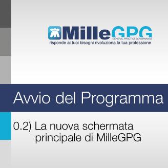 MilleGPG – La nuova schermata principale di MilleGPG