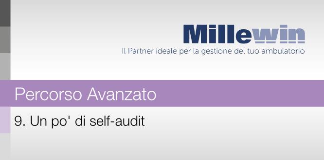 9) Un pò di self-audit