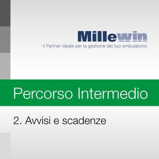 Millewin – Corso INTERMEDIO – 2. Avvisi e Scadenze